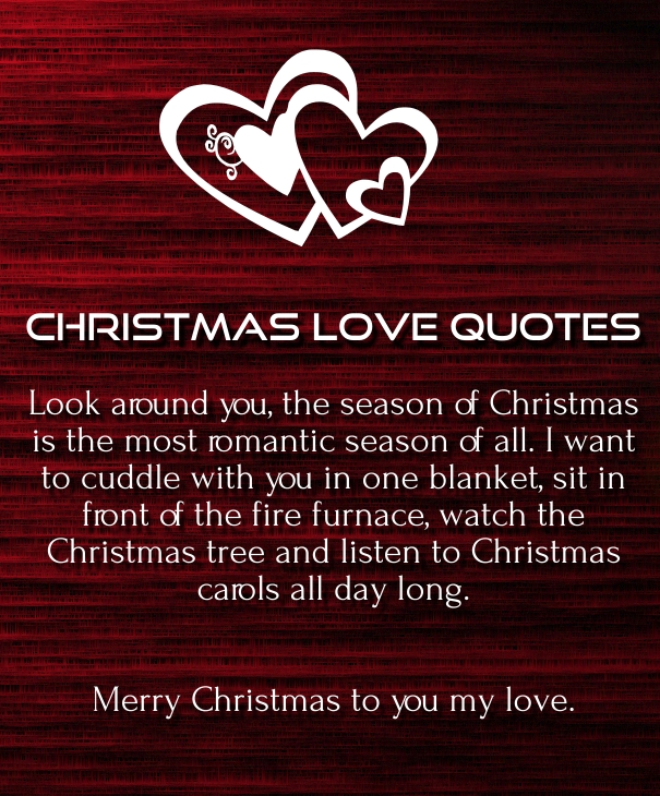 Merry Christmas Romantic Messages And Quotes Images