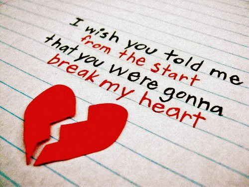 Broken Heart Funny Love Quotes For Her From Him