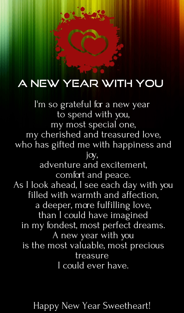 Poem For The New Year