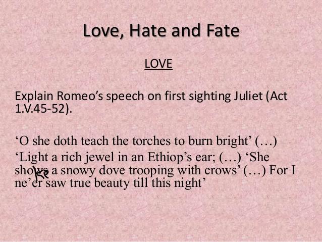 Love And Fate Loveexplain Romeos