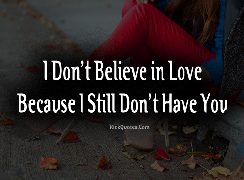 Alone Girl Love Quote Sad