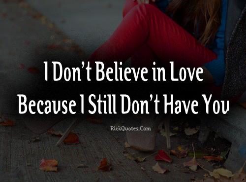 Alone Girl Love Quote Sad