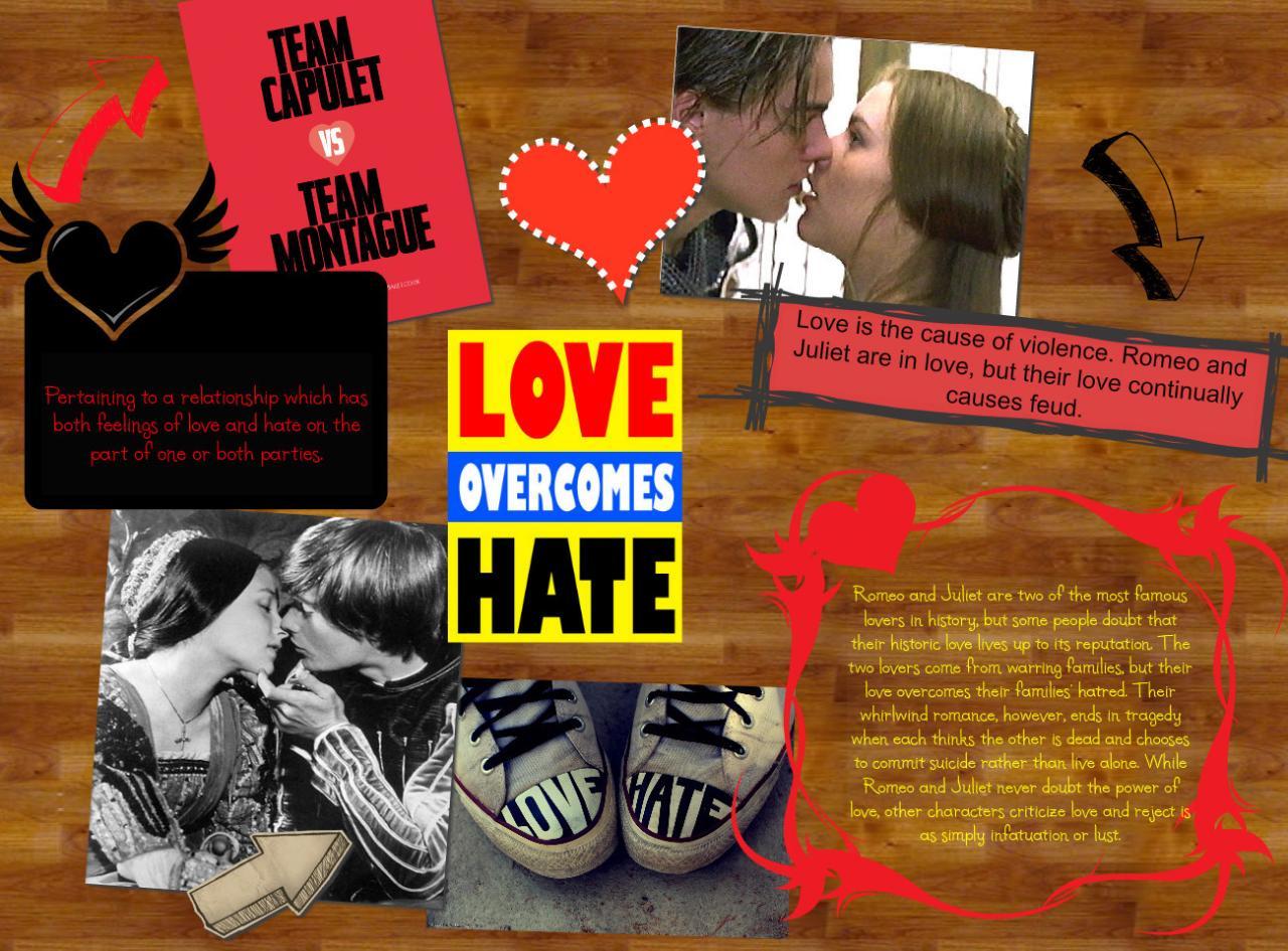 Romeo Juliet Hatred Essay
