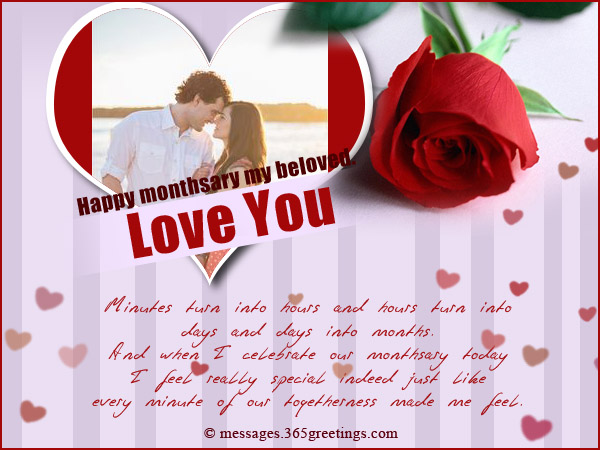 Romantic Monthsary Messages For Boyfriend