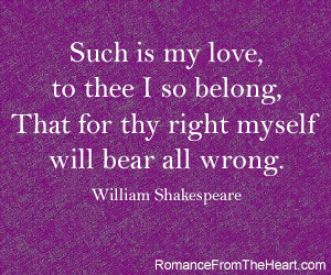 Shakespeare Love Quotes Page