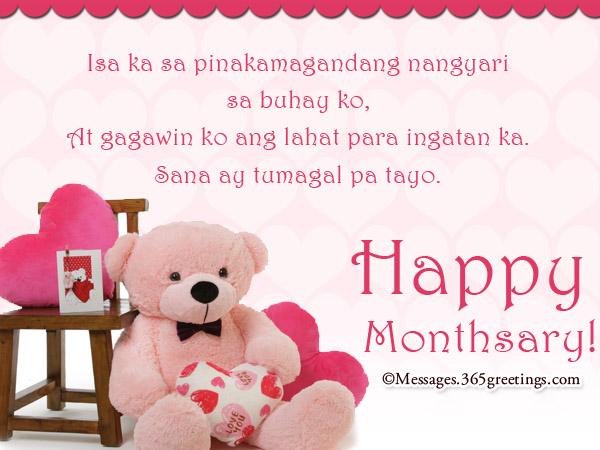Tagalog Anniversary Messages Sa Lahat Ng
