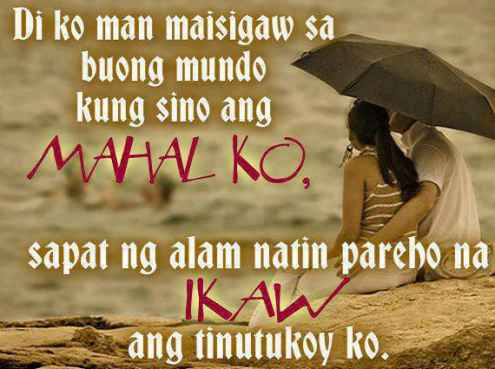 Tagalog Friendship Love Quotes