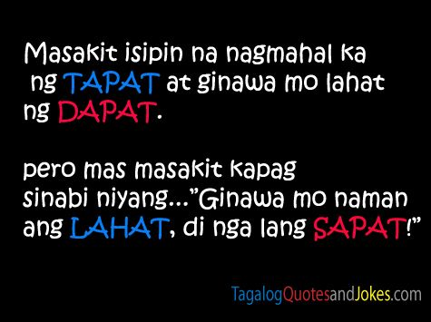 Simple Tagalog Quotes Images
