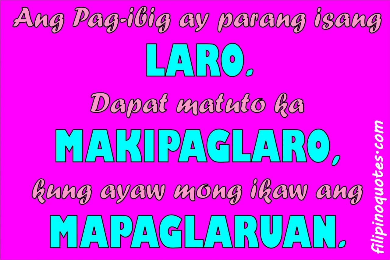 Quotes About Love Tagalog Funny Quotes Love Tagalog Version Dobre For