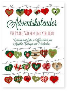 Adventskalender Taschenbuch Fur Paare