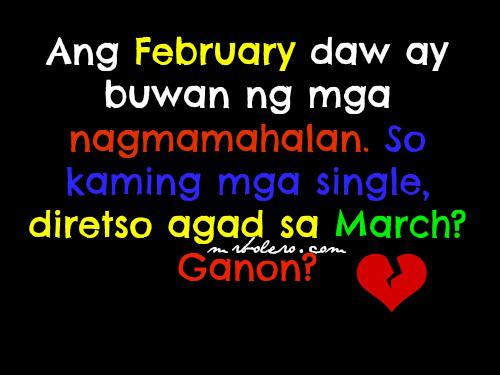Funny Valentines Quotes Para Sa Mga Bitter Kowts