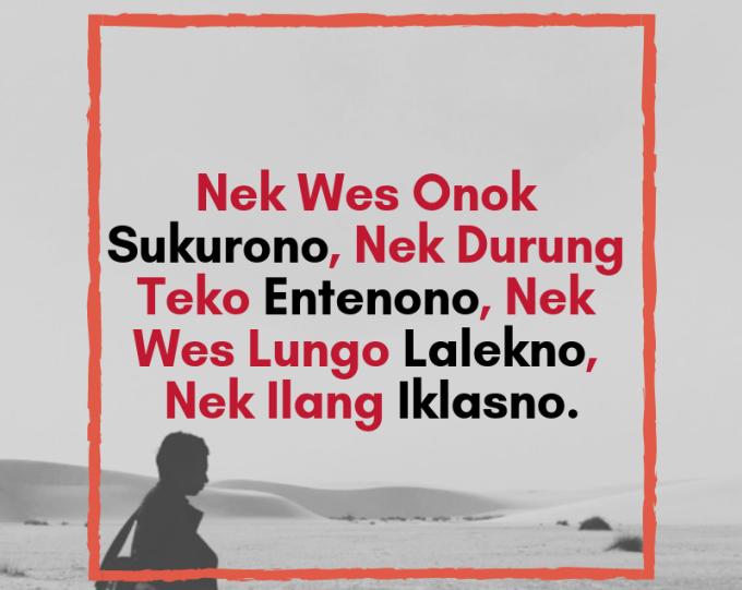 Kata Kata Bijak Untuk Wanita Dalam Bahasa Jawa   Lucu ...