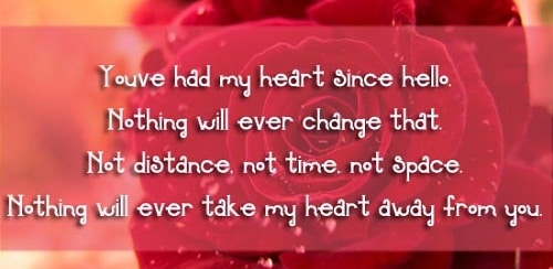 Youve Had My Heart Love Quotes For Her
