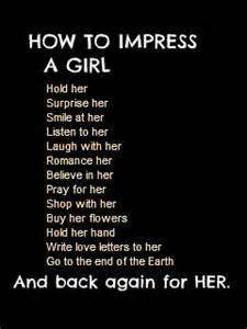 Quotes To Impress A Girl Quotesgram