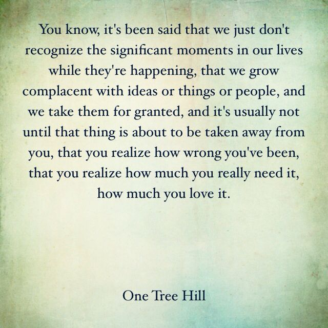 One Tree Hill Quotes Love Life Lucas Scott