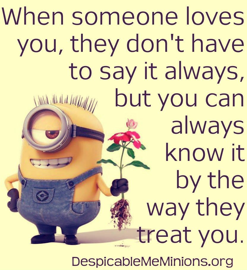 Top  Minion Love Quotes