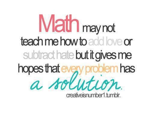 Math Quote On Tumblr