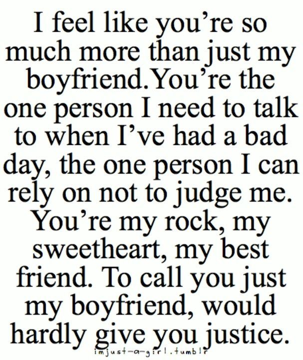 Cute Boyfriend Quotes For Him Love My