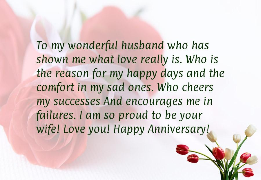 Happy Anniversary Message For Husband