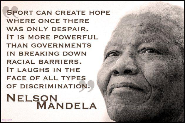 Invictus Nelson Mandela Sports Quote Google Search