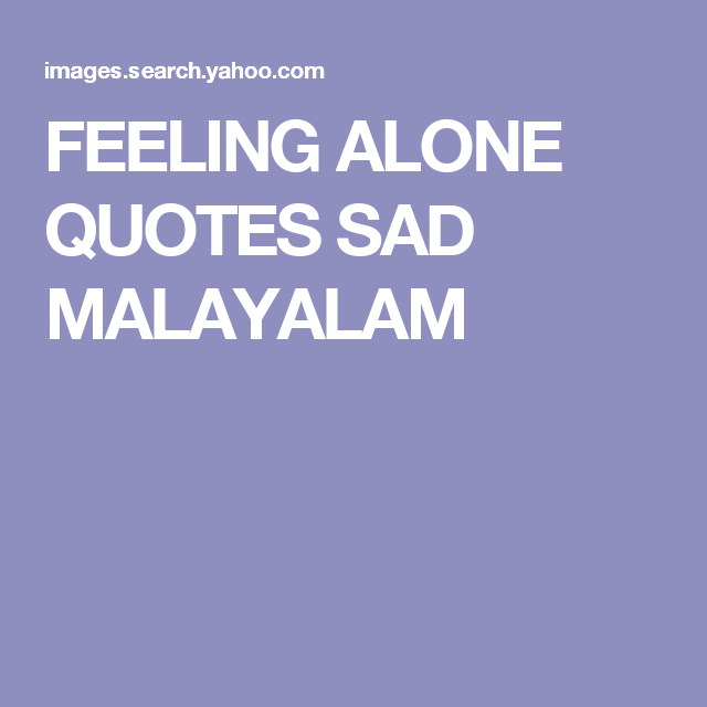 Image Result For Sad Quotes Malayalam
