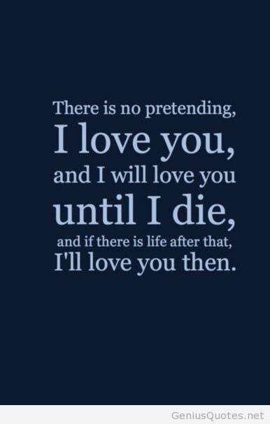 I Love You Quote Pic Husband Wife Girlfriend