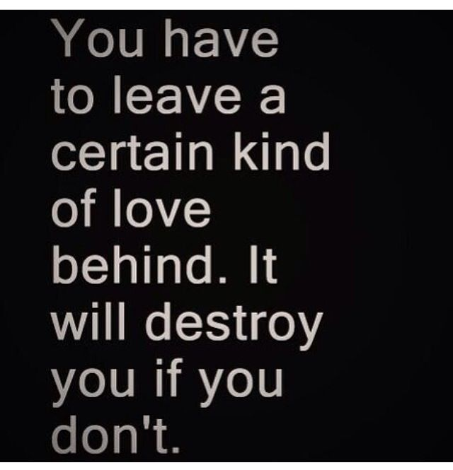 Inspirational  C B Love Can Destroy You Learn To Move On From Destructive Relationships