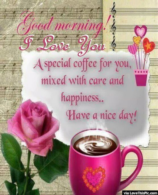 I Love You Good Morning Quote