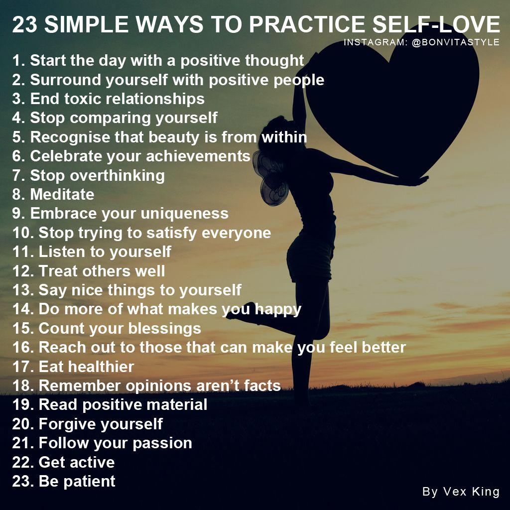 Simple Ways To Practice Self Love