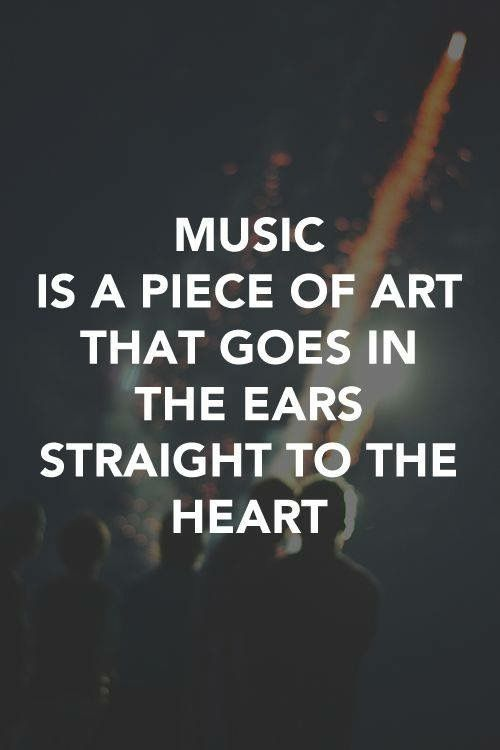 Inspirational Music Quotes And Sayings