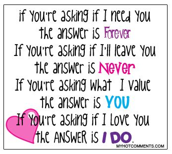 Quotes About Love If Your Asking