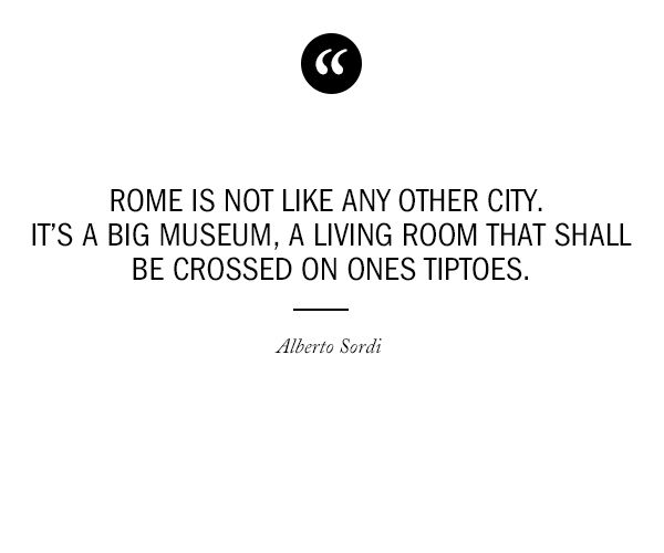 One Of The Best Quotes About Rome We Have Ever Read