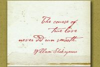 Items Similar To William Shakespeare Love Quote Wall Print Personalized Wedding Anniversary Gift X On Etsy