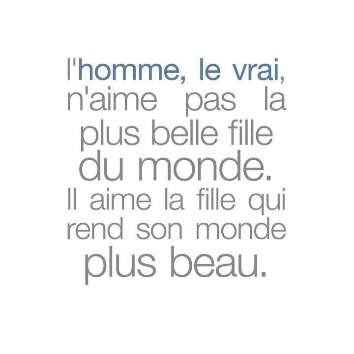 Love Quotes French For Him