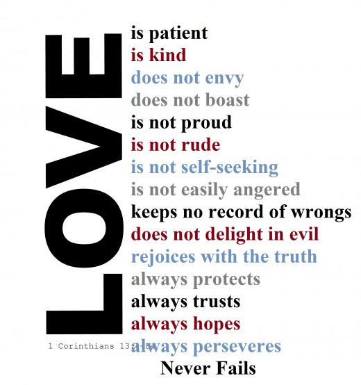 Love Is Patient Love Is Kind Bible Verseysis Owlcation