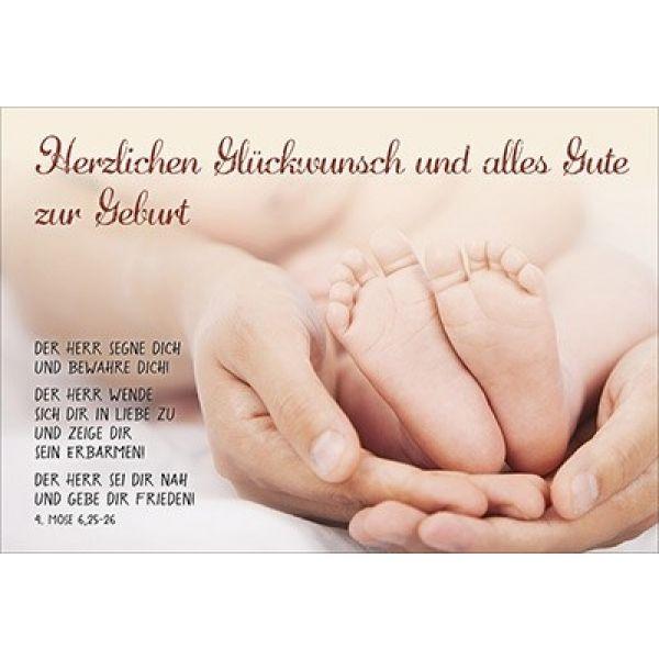Faltkarte Herzlichen Gluckwunsch Geburt Schreibwaren