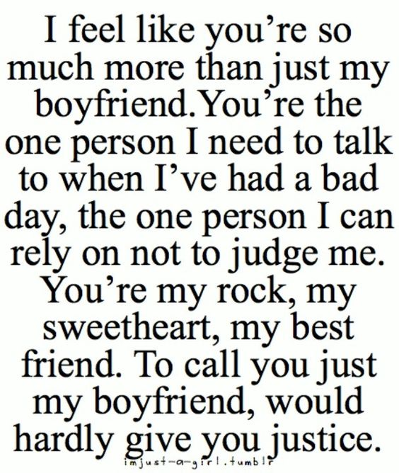 Cute Boyfriend Quotes For Him My Everything Love You Quotes