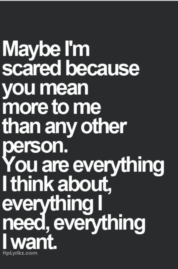 Your Everything I Want