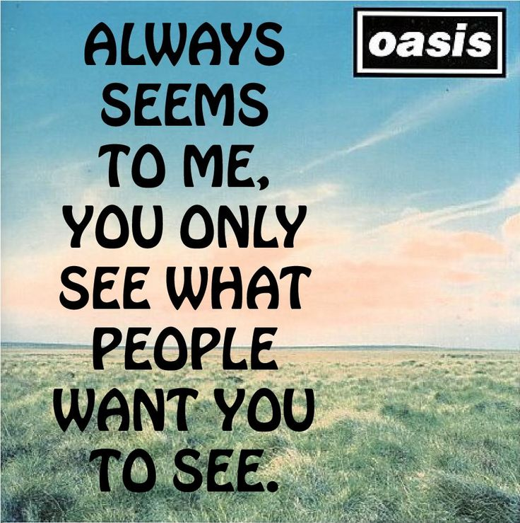Love Quotes From Oasis Songs Best Oasis Quotes On Simple Things