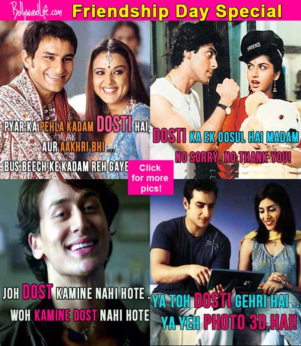 Cool Bollywood Movie Quotes On Friendship That You Need To Use In Real Life