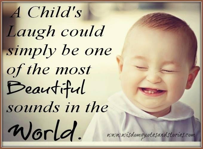 A Childs Laugh