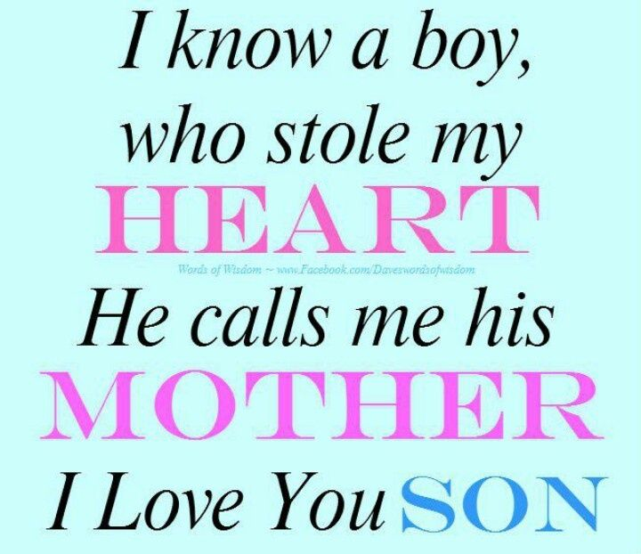 Love You Son Quotes Luv You Son Quotes That I Love