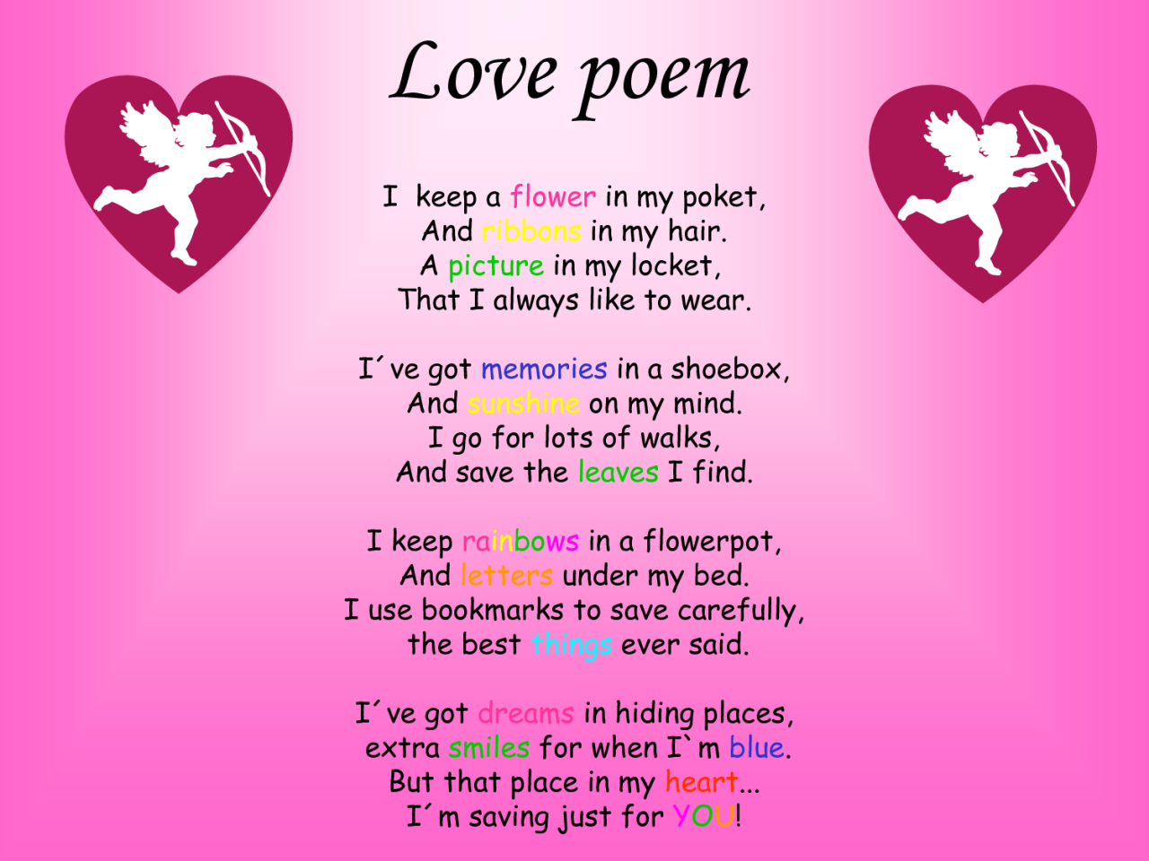 Image Result For Love Poem