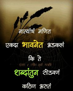 Marathi Love Quotes Marathi Poems Hindi Quotes Words Quotes Weird Facts
