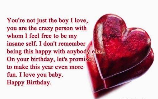 Happy Birthday My Love Quotes For Him Sgfflytkp