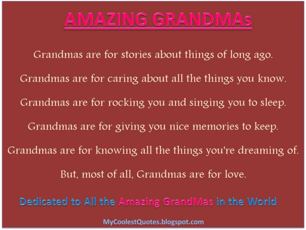 Amazing Grandmas