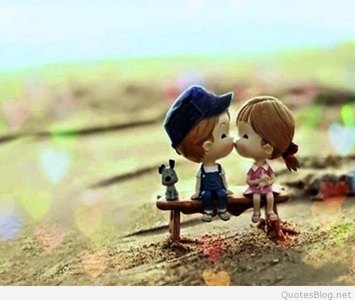 Animated Love Couple Pic For Whatsapp