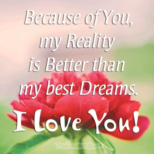 I Love You Message