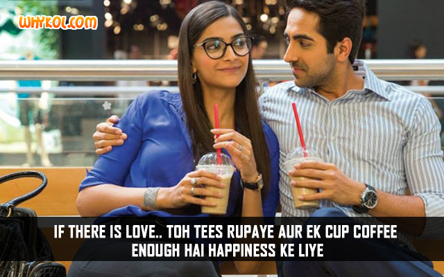 Hindi Funny Love Quotes Ayushmann Khurrana