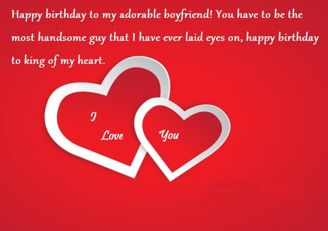 Birthday Wishes For Boyfriend With Love Quotes